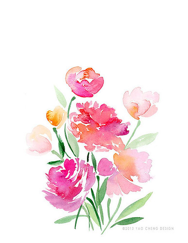 Watercolor-Print-Peonies