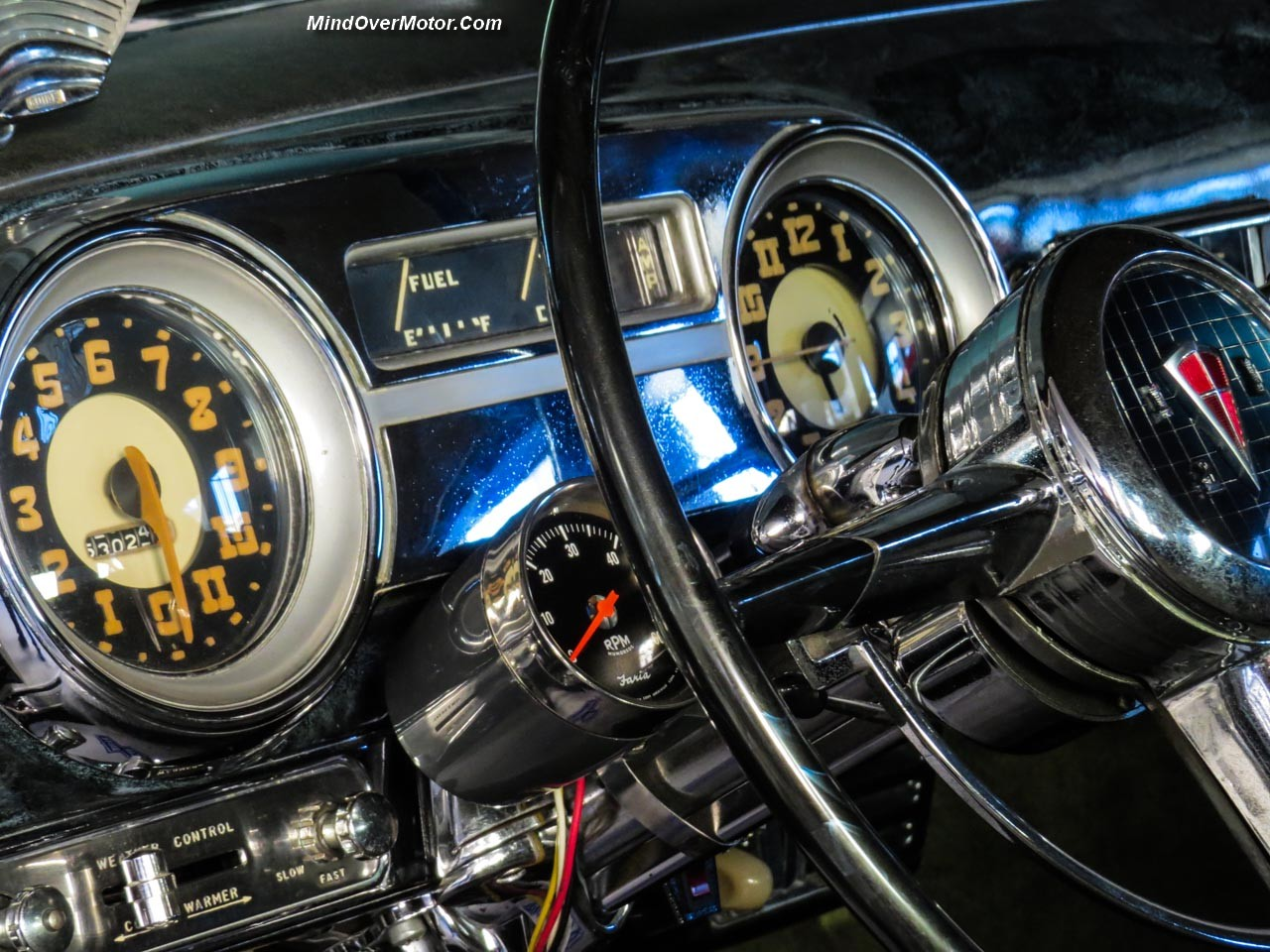 1952 Hudson Hornet Sedan Instrument Panel