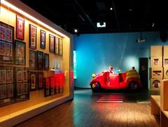 Big red car