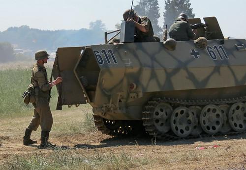 Panzer Grenadiers Disembark