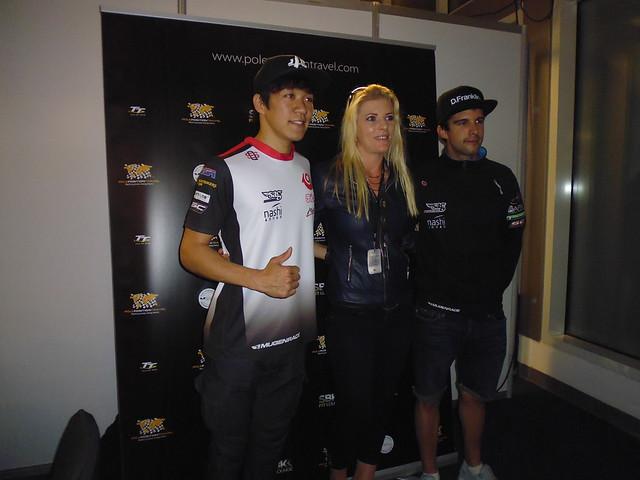 SAG Riders Tetsuta Nagashima and Isaac Vinales