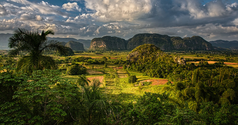 Valle de Vinales in Morning Light, Cuba