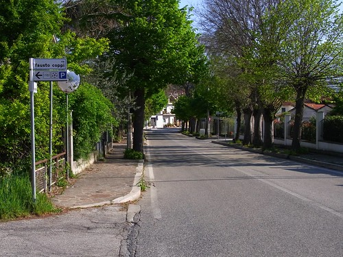 Fausto Coppi street