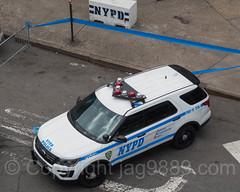 NYPD PBBX Police Car at Yankee Stadium, The Bronx, New York City