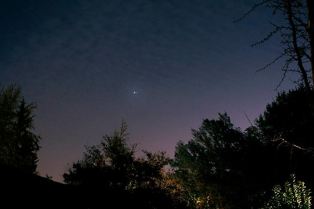 Conjuncion Venus y Jupiter