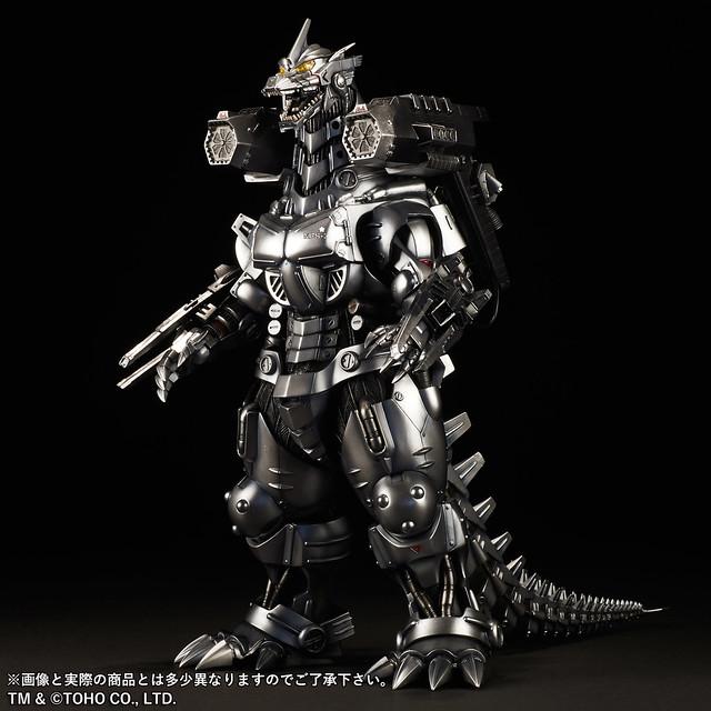 「大怪獸頂上決戰!」X-PLUS TOYS 東寶30公分系列 3式機龍(2003版)重武裝型 「限定夜間激闘Ver.」!