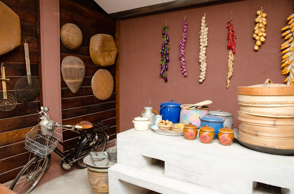 Ah Ma House 阿嬤的家 - kitchen of our grandparents.