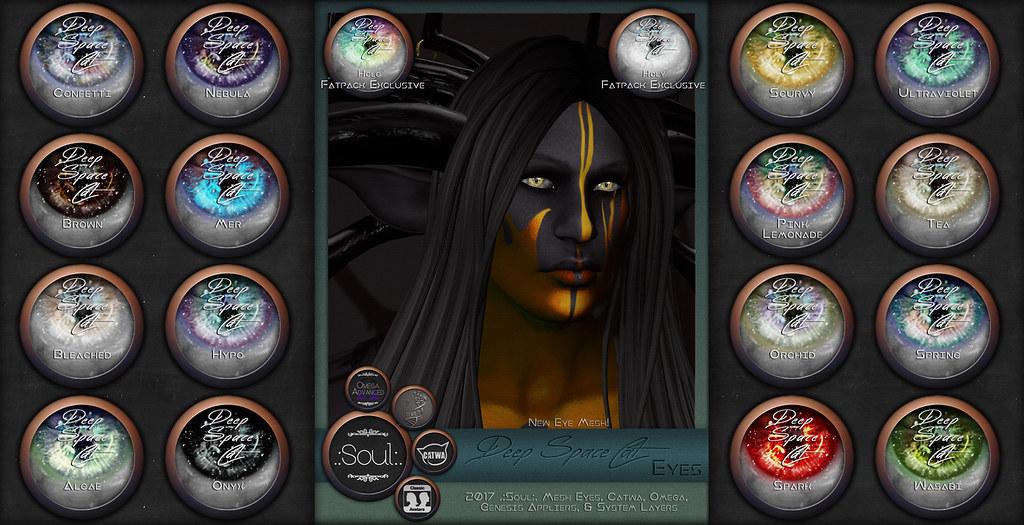 .:Soul:. Deep SpaceCat Eyes - SecondLifeHub.com
