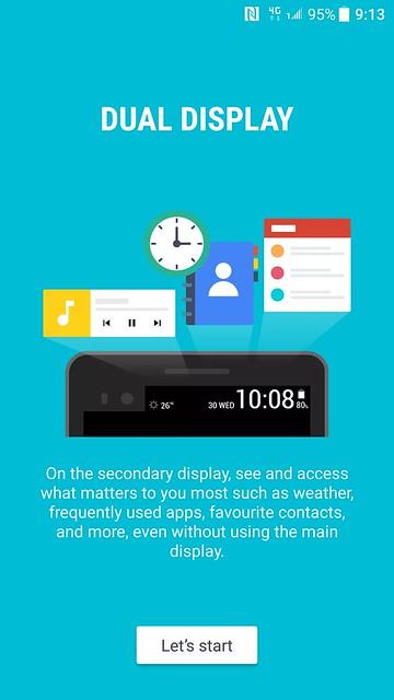 HTC Sense - Dual Display