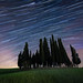 Tuscany StarTrails by Marco Saccardi