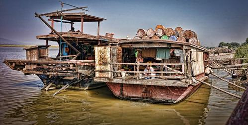 boats burma holidays lightroom mingun myanmar onestoptraveltours topazlabs