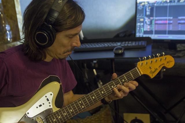 Guitarras eléctricas nuevo disco Santiago Montoro