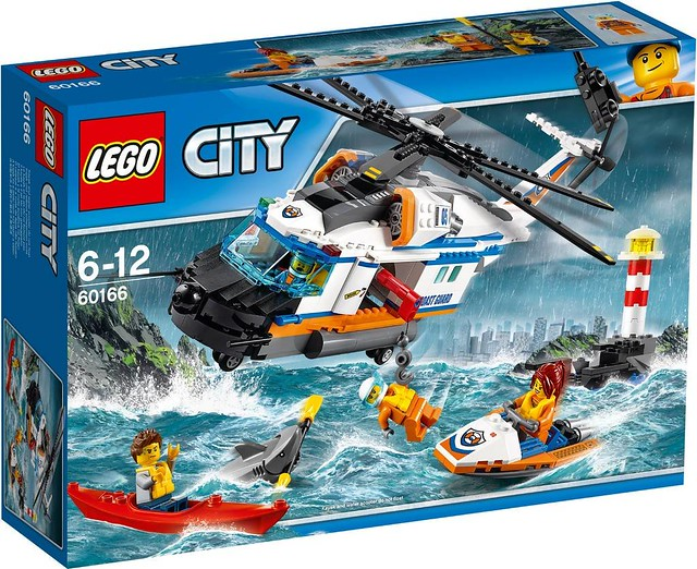 60166 Heavy-Duty Rescue Helicopter 1