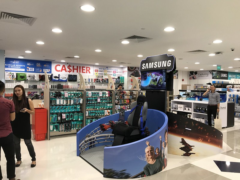Challenger Flagship Store (Bugis Junction) - Samsung Galaxy Plus VRcade