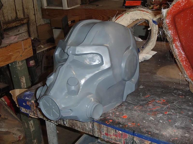 T-60 Helmet Progress Left