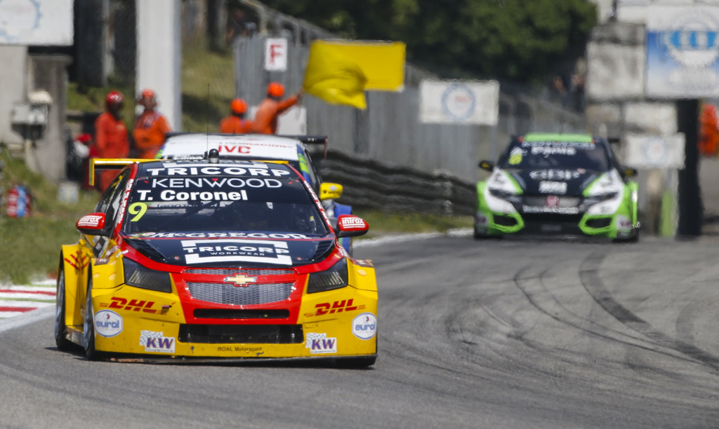 09 CORONEL Tom (ned) Chevrolet RML Cruze team ROAL Motorsport action during the 2017 FIA WTCC World Touring Car Race of Italy at Monza, from April 28 to 30  - Photo Francois Flamand / DPPI