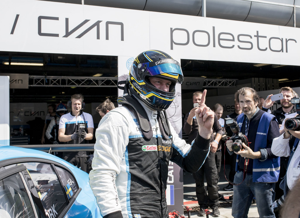 BJORK Thed (swe) Volvo S60 Polestar team Polestar Cyan Racing ambiance portraitBJORK Thed (swe) Volvo S60 Polestar team Polestar Cyan Racing ambiance portrait during the 2017 ETCC European Touring Car Championship race of Italy at Monza, from April 28 to 30  - Photo Gregory Lenormand / DPPI