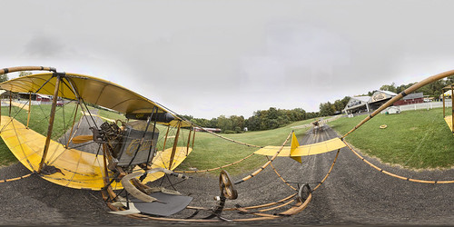 1911 Curtiss Pusher reproduction at the Old Rhinebeck Aerodrome