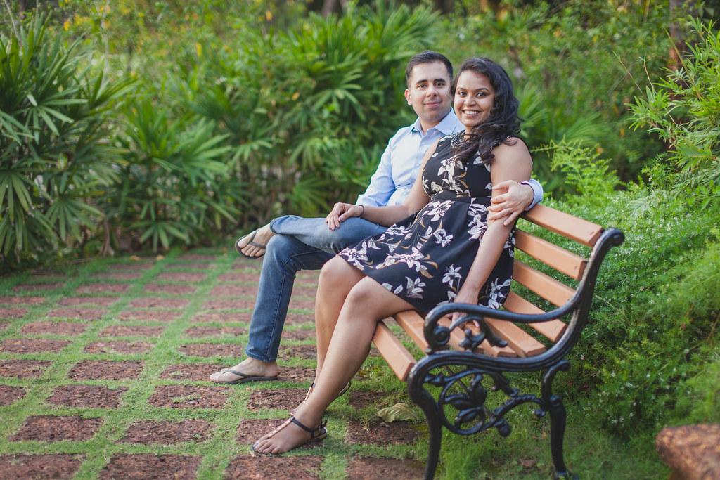 Sunayna & Mahendra – Engagement Photography in Goa