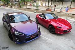 Toyota GT86 and Mazda MX-5, Bangladesh.