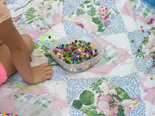 2013 Linden Hills Festival bead bucket