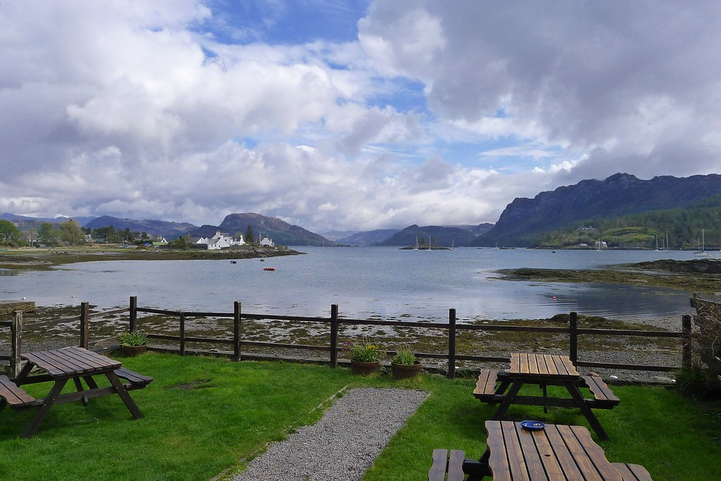 View from the Plockton Hotel