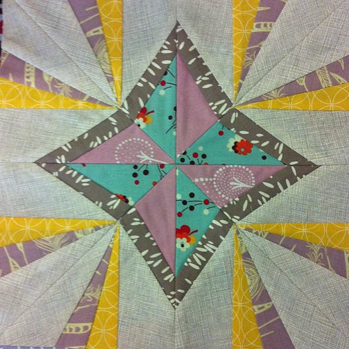April's Lucky Stars Block of the Month