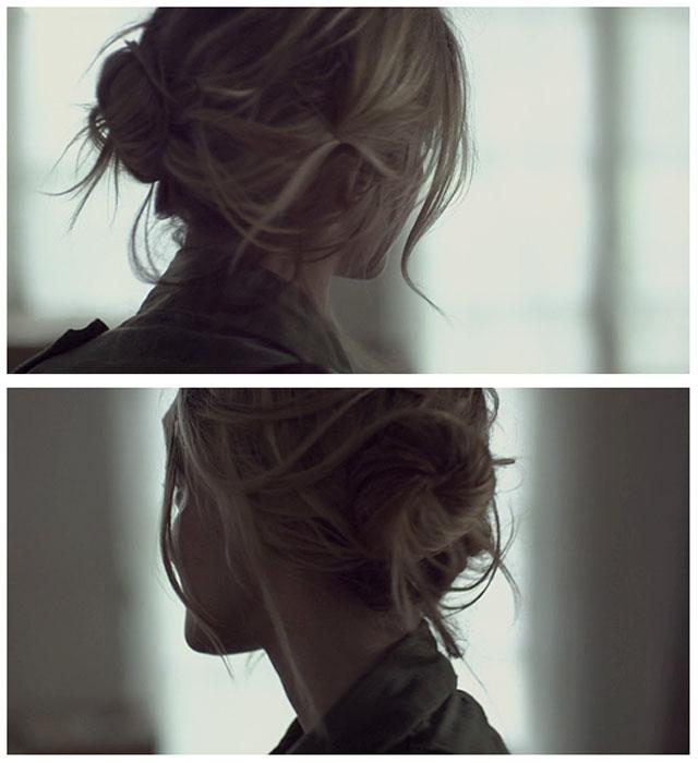 soft updo-hair-pretty