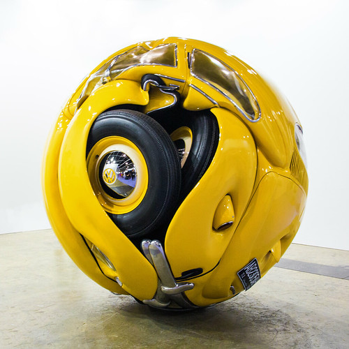 The Beetle Sphere by Ichwan Noor