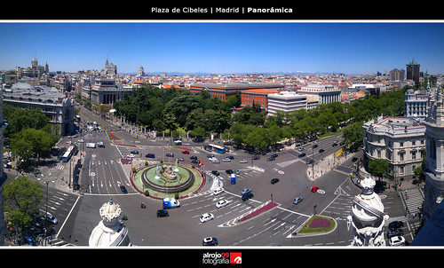 Plaza de Cibeles | Madrid | Panorámica by alrojo09