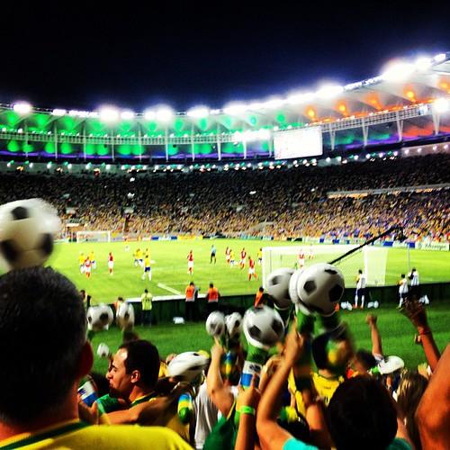 Inglaterra x Brasil #brazil #england #inglaterra #maracana #rio #football #futebol #brasil