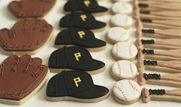 pirates baseball cookies