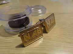NAB cuff links