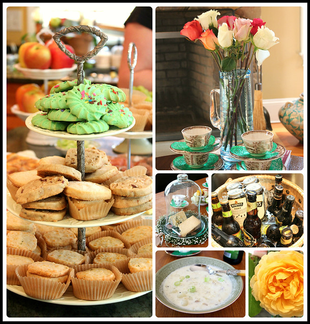Irish Tea collage