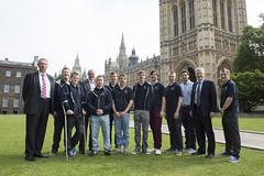 Team Innovia Films meet MPs at Westminster