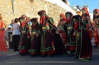 Moors & Christians /  Maures et chrétiens/ Moros y Cristianos/ Mojácar 2013