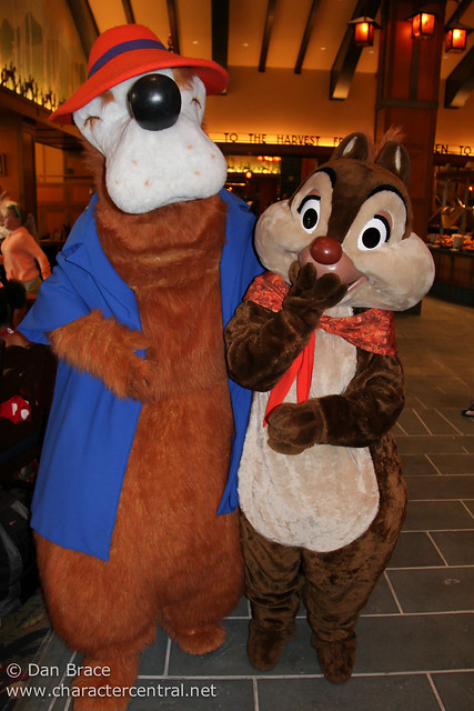 Chip 'n Dale's Critter Breakfast