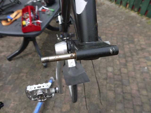 Brompton hinge repair