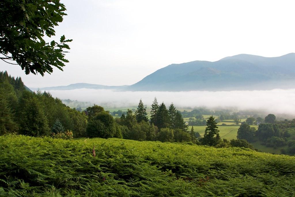 Mist over Bassenthwaite