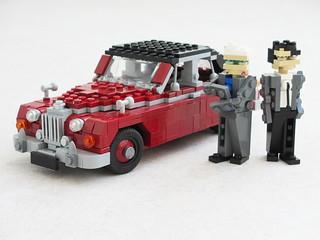 Inspector Morse Jaguar Mk II (1)