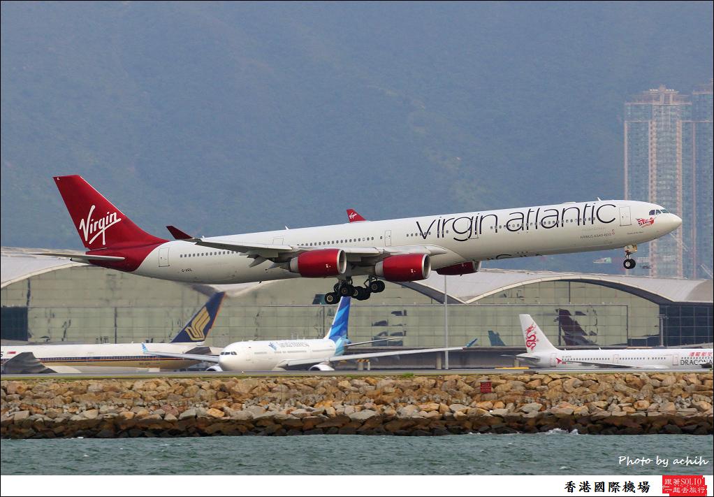 Virgin Atlantic Airways G-VEIL-001