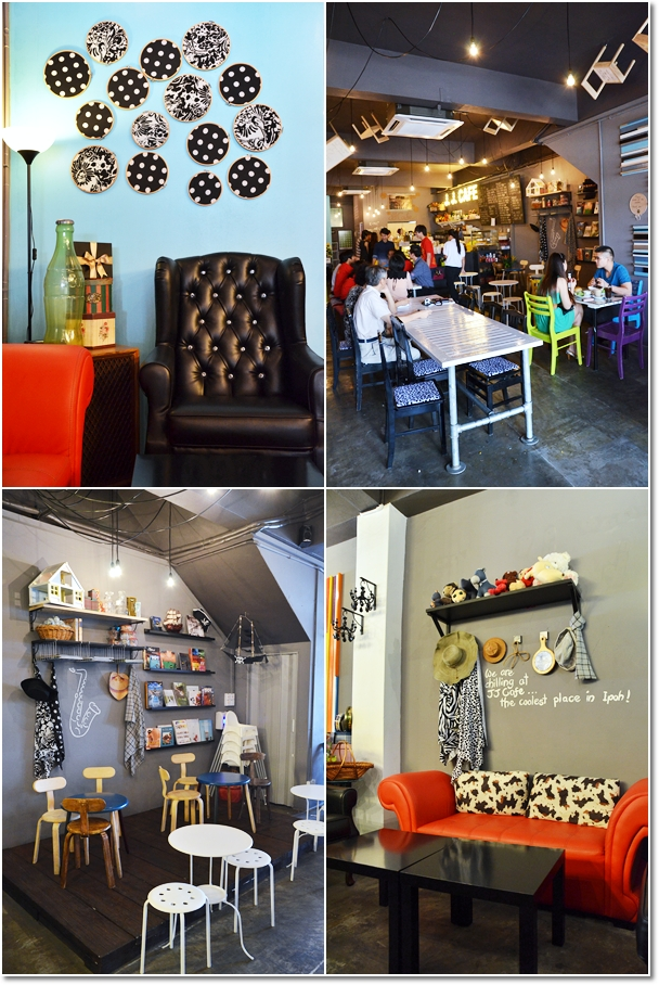 JJ Lifestyle Cafe - Creative Interior