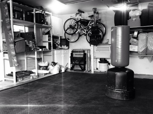 Garage / training room.