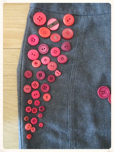 Skirt upcycling