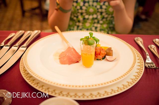 Tokyo DisneySea - Mediterranean Harbor / Magellan's / Hor d'oeuvres Sampler