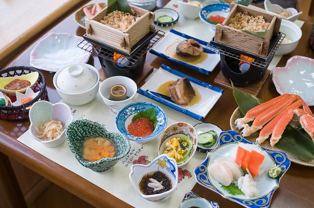田中屋 ひなげし館 夕食