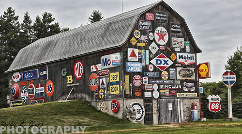 Old Sign Barn by Ricky L. Jones Photography