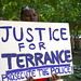 Justice for Terrance Rally
