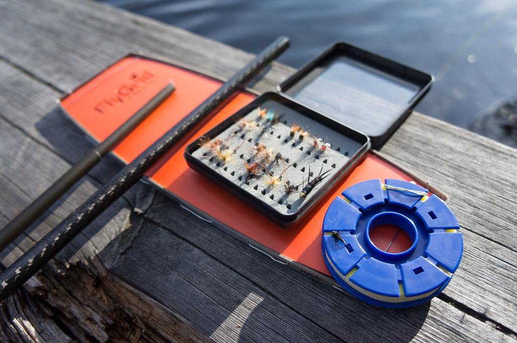 UL Tenkara fly fishing setup