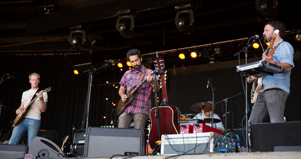 Blitzen Trapper @ First City Festival, Monterey 08-24-2013
